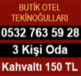 Butik Otel Tekinoğulları Eskişehir