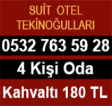 Suit Otel Tekinoğullari Eskişehir